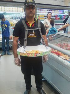 mccain food sampling promotion 6
