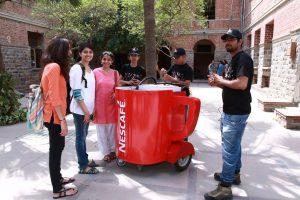 nescafe sample promotion 2