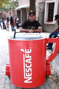 nescafe sample promotion 7